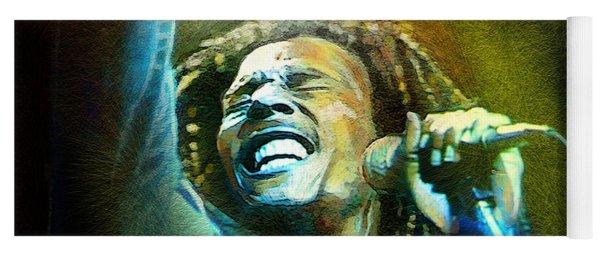 Bob Marley 06 Yoga Mat