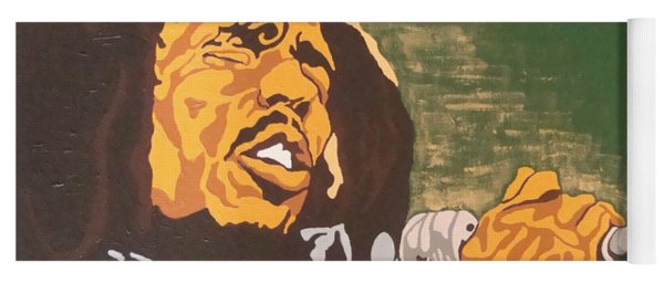 Bob Marley Yoga Mat