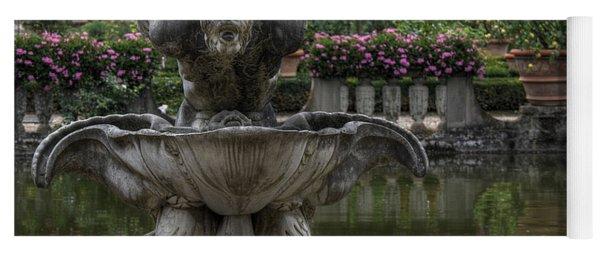 Boboli Fountain Yoga Mat