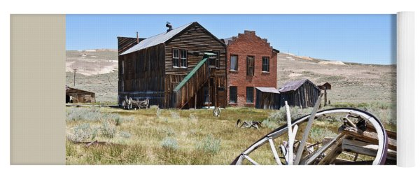 Bodie Ghost Town 3 - Old West Yoga Mat