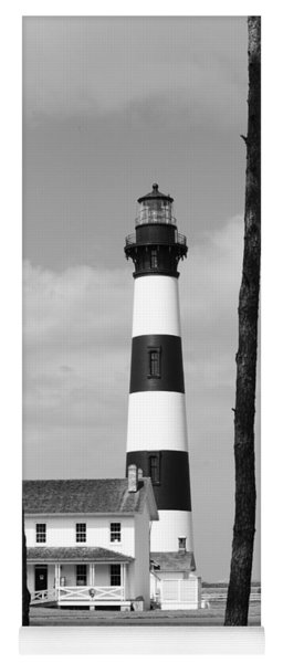Bodie Island Lighthouse In The Outer Banks Yoga Mat