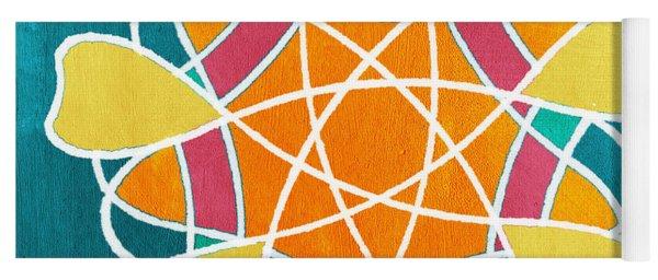 Boho Floral Mandala Yoga Mat