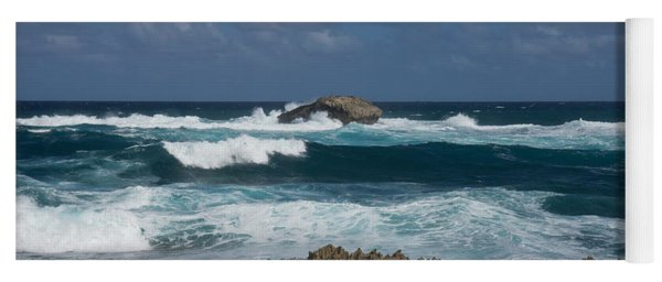 Boiling The Ocean At Laie Point - North Shore - Oahu - Hawaii Yoga Mat