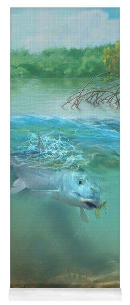 Bone Fish Yoga Mat