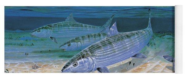 Bonefish Flats In002 Yoga Mat