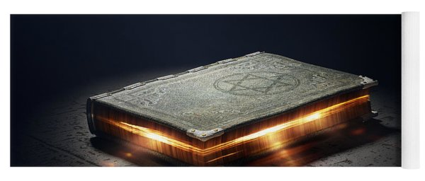 Book With Magic Powers Yoga Mat