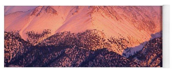 Borah Peak  Yoga Mat