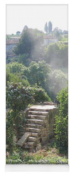 Bordeaux Village Cloud Of Smoke  Yoga Mat