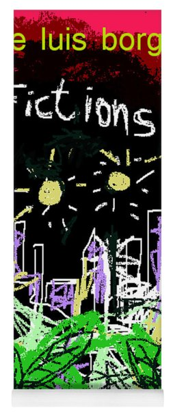 Borges Fictions Poster  Yoga Mat