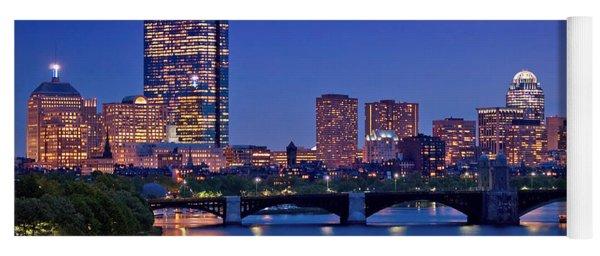 Boston Nights 2 Yoga Mat