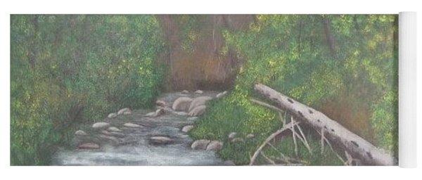 Boundary Creek  Bc Yoga Mat