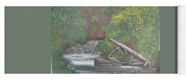Boundary Creek  Bc Yoga Mat
