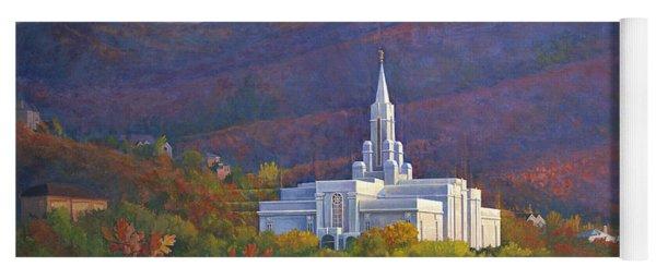 Bountiful Temple In The Mountains Yoga Mat