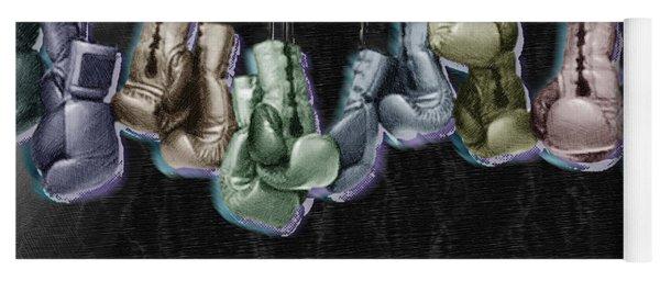 Boxing Gloves Yoga Mat