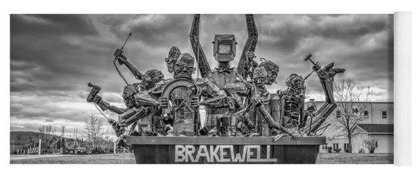 Brakewell Steel Yoga Mat