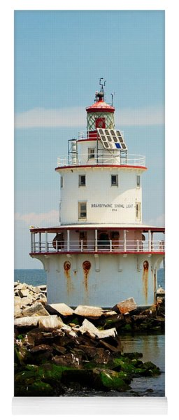 Brandywine Shoal  Lighthouse Yoga Mat