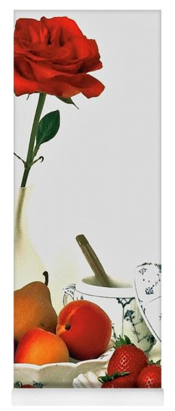 Breakfast For Lovers Yoga Mat