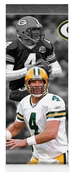 Brett Favre Packers Yoga Mat