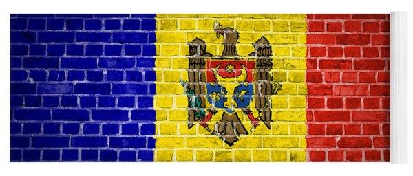 Brick Wall Moldova Yoga Mat