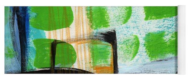 Bridge- Abstract Landscape Yoga Mat