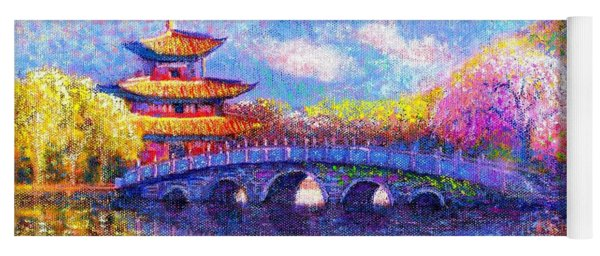 Bridge Of Dreams Yoga Mat