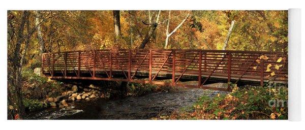Bridge On Big Chico Creek Yoga Mat