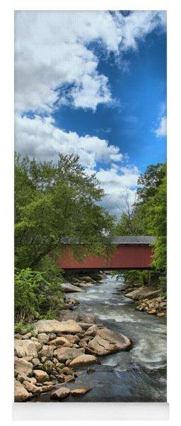 Bridging Slippery Rock Creek Yoga Mat