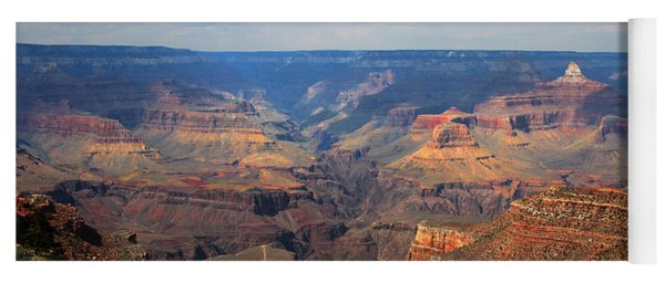 Bright Angel Trail Grand Canyon National Park Yoga Mat