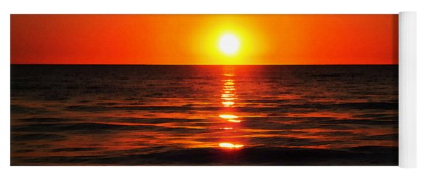 Bright Skies - Sunset Art By Sharon Cummings Yoga Mat