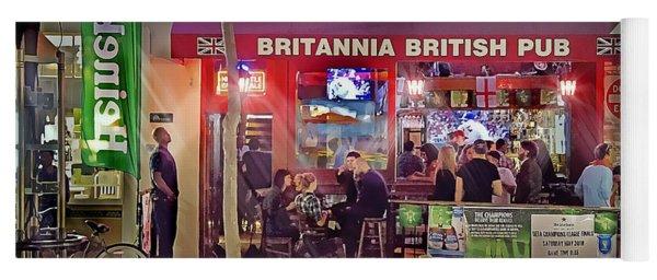 British Pub Yoga Mat