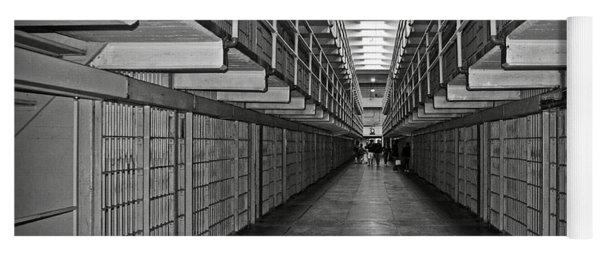 Broadway Walkway In Alcatraz Prison Yoga Mat