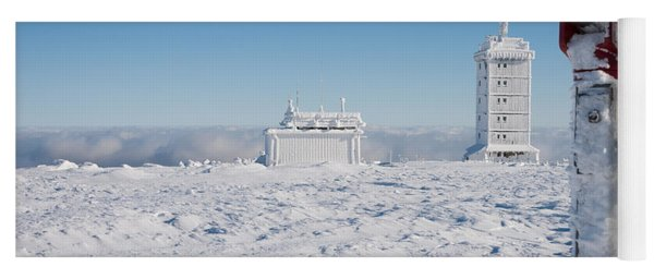 Brocken In Winter, Harz Yoga Mat