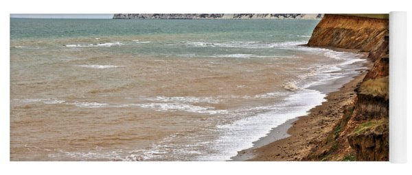 Brook Bay And Chalk Cliffs Yoga Mat