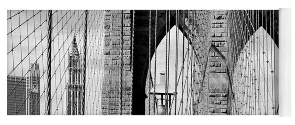 Brooklyn Bridge New York City Usa Yoga Mat