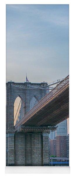 Brooklyn Bridge Sunset Yoga Mat