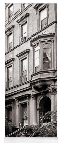 Brooklyn Heights -  N Y C - Classic Building And Bike Yoga Mat