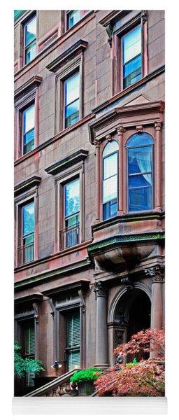 Brooklyn Heights - Nyc - Classic Building And Bike Yoga Mat