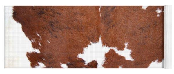 Brown Cowhide Yoga Mat