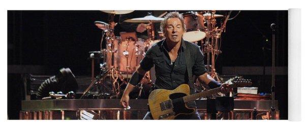 Bruce Springsteen In Concert Yoga Mat