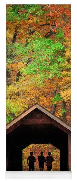 Brush Creek Covered Bridge Yoga Mat