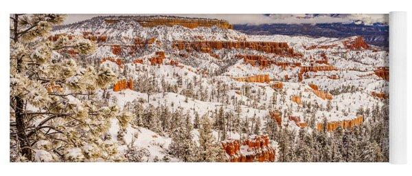 Bryce Canyon Winter Yoga Mat