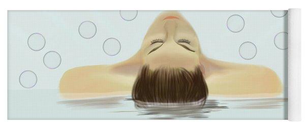 Bubble Bath Luxury Yoga Mat