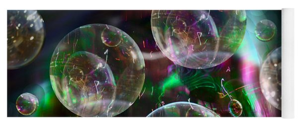 Bubbles And More Bubbles Yoga Mat