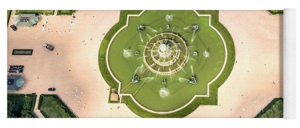 Buckingham Fountain  Aerial Yoga Mat