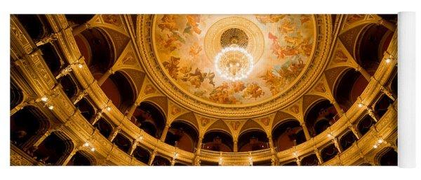 Budapest Opera House Auditorium Yoga Mat
