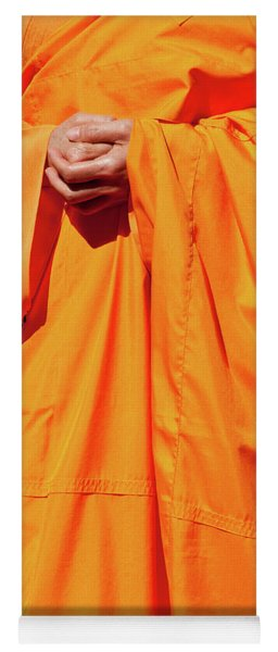 Buddhist Monk 02 Yoga Mat