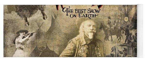 Buffalo Bill Wild West Show Yoga Mat