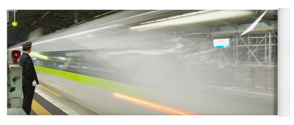 Bullet Train Yoga Mat