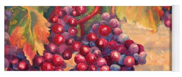 Bunch Of Grapes Yoga Mat