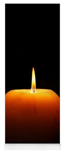 Burning Candle Yoga Mat